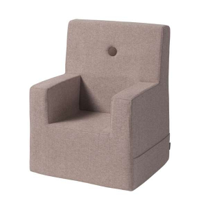 BY KLIPKLAP - KK KIDS CHAIR XL (SOFT ROSE/ROSE)