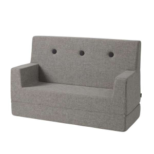 BY KLIPKLAP - KK KIDS SOFA (MULTIGRÅ/GRÅ)