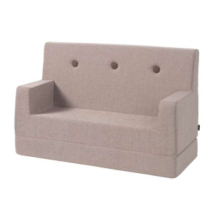 BY KLIPKLAP - KK KIDS SOFA (SOFT ROSE/ROSE)