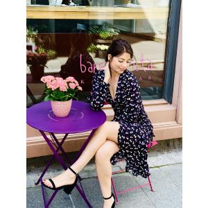 Erica Wrap Dress