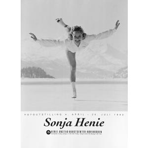 Plakat Sonja Henie Fotoutstilling-92