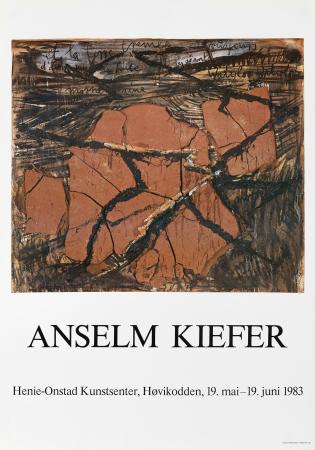 Plakat vintage A Kiefer 1983