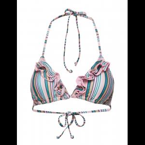 Stria 2Frill Bikini Top