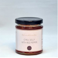 Chilli jelly with red pepper