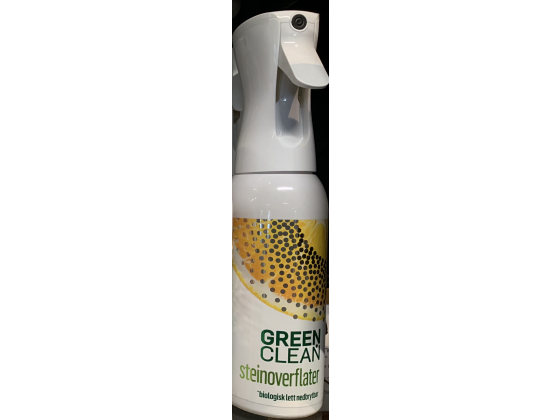 green clean steinoverflater