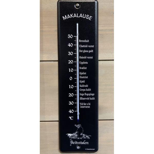 Makalause stor dialekttempen sort m sølv