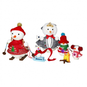 DIY KIT SNOWMAN FAMILY PICNIC