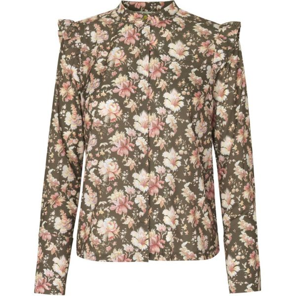 Leah flower shirt