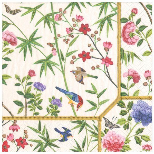 """""""Ivory chinese wallpaper"""" dinner"""