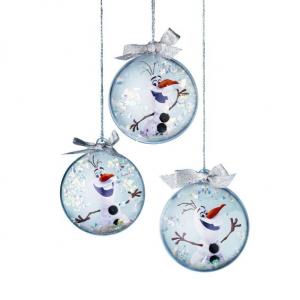 FROZEN CHRISTMAS BAUBLES KIT