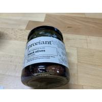 Proviant svarte oliven