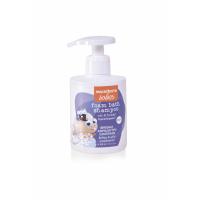 Foam bath-shampoo 2 in 1