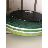 Bokserstrikk striper i grønntoner. Uno tekst