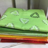Pakke Grønn/gul/orange