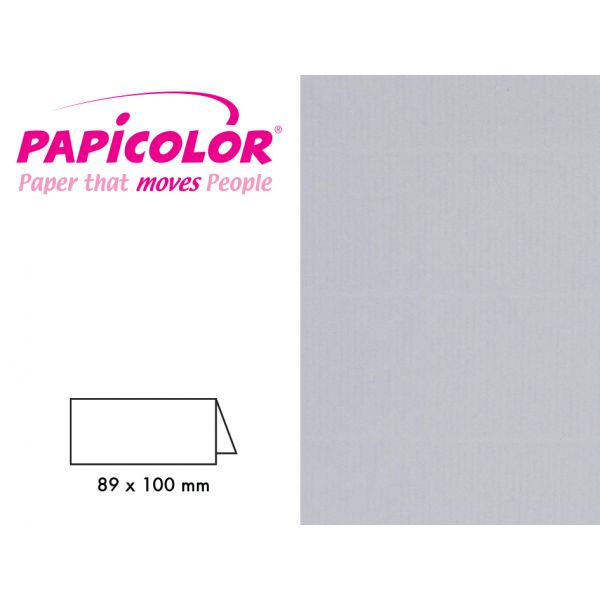 Papicolor Bordkort – 958 Grå 25stk
