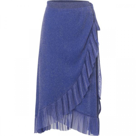 Ninnet Skirt Electric Blue