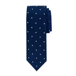 Navy polkadot silke slips