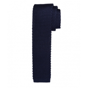 Navy knitted slips