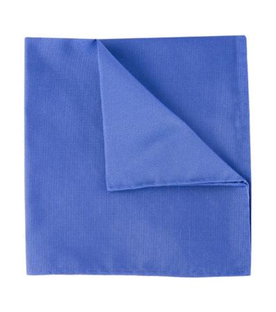 Royal blå Oxford lommetørkle