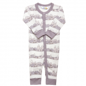 JOHA - JUMPSUIT ULL/BAMBUS MOUNTAINS LILLA