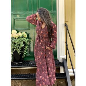 Iris Midi Dress Marigold