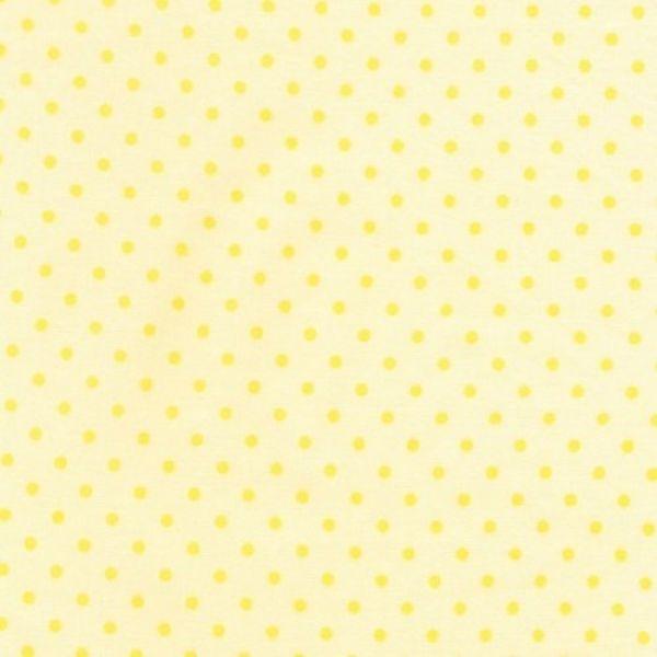 Bunnies dot yellow