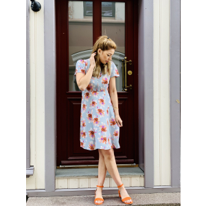 50s Dress Moonflower