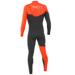 Sooruz FIGHTER 4/3 Fullsuit Zip Free Orange