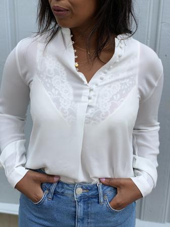 Dylana shirt - creme