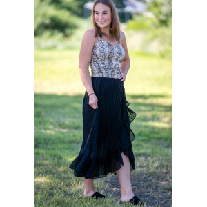 Mounce Long Wrap Skirt