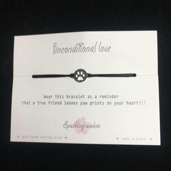 Unconditional love - Armbånd