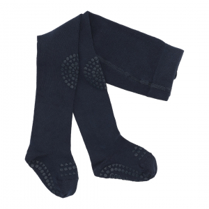 GOBABYGO - CRAWLING TIGHTS NAVY BLUE