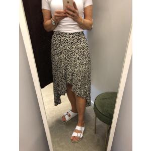 Mara Ditsy Wrap Skirt
