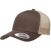 flexfit retro trucker 2-tone brown/khaki
