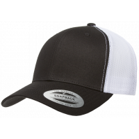 flexfit retro trucker 2-tone darkgrey/white one size