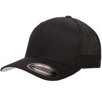 flexfit mesh trucker Black