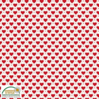 Tiled red heart