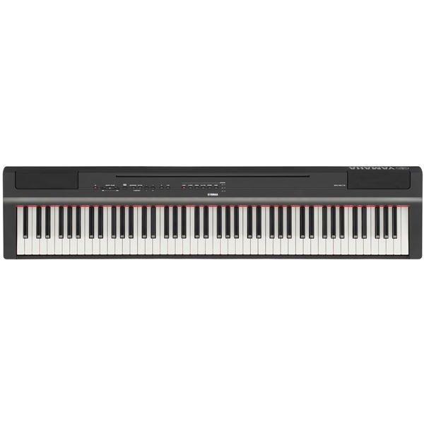 Yamaha P125 digitalt piano Sort