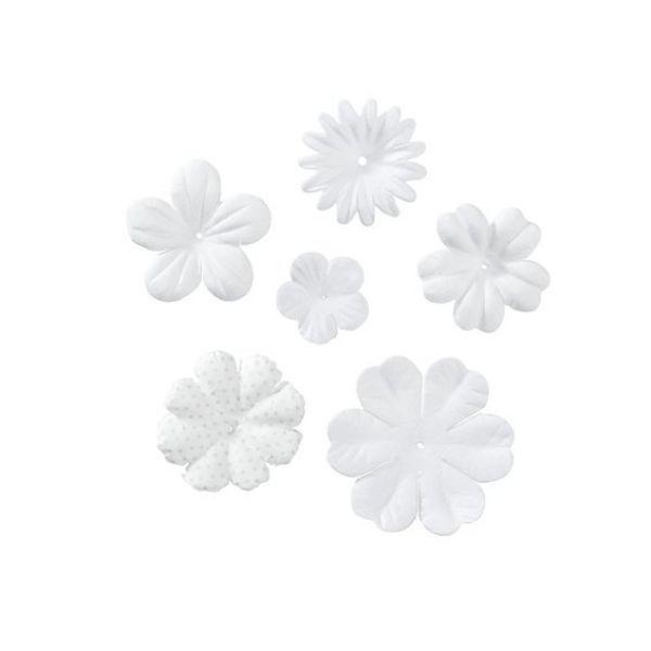 PAPIRBLOMSTER WHITE/BEIGE 120
