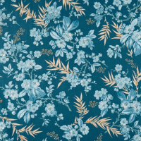 Something blue floral