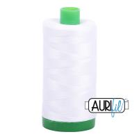 Aurifil hvit