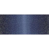 Ombre confetti metallic indigo