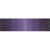 Ombre confetti metallic aubergine