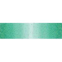 Ombre confetti metallic teal