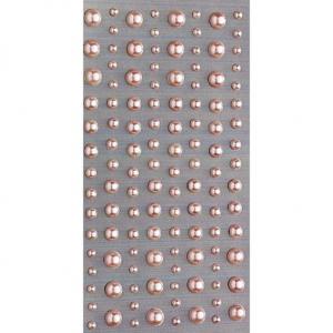 PEARL STICKERS ROSA 120 STK
