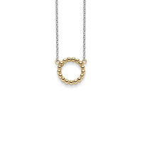 Copenhagen Anheng i gull med sølvkjede i 42+3cm