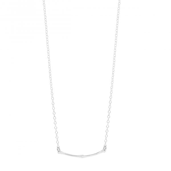 Bamboo, Point of Gravity necklace