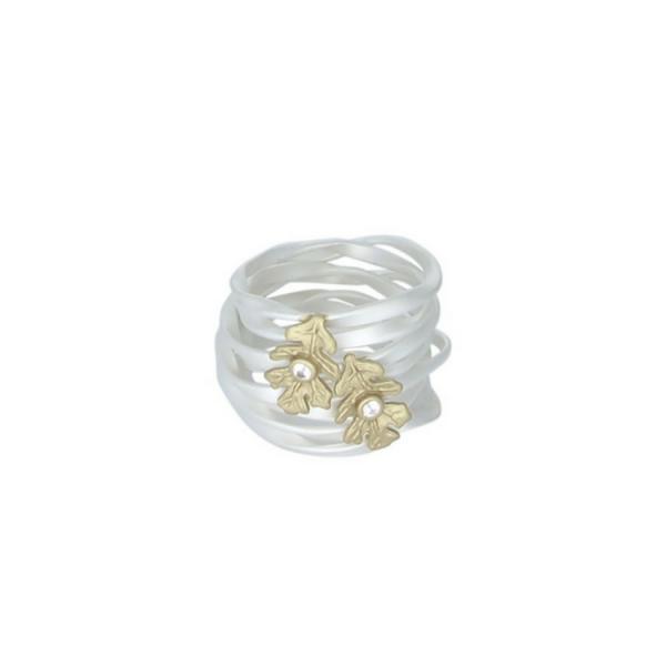 Ring - Solskinn sølv