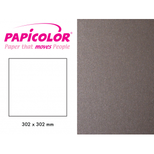 PAPICOLOR 302X302MM - 332 METALLIC STÅL