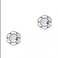 Tusenfryd sølv ørepynt - 11 ulike farger